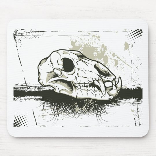 Skull ~ Skulls Animal Skeleton Mouse Mat