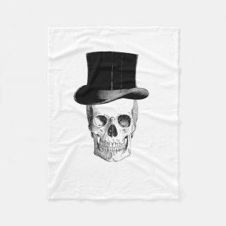 Skull Small Fleece Blanket