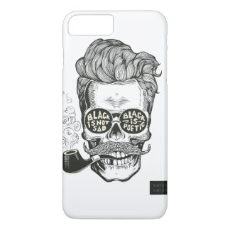 Skull Smoke iPhone 7 Plus Case