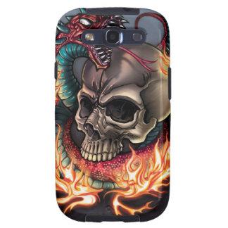 Skull + Snake Samsung Galaxy S3 Case
