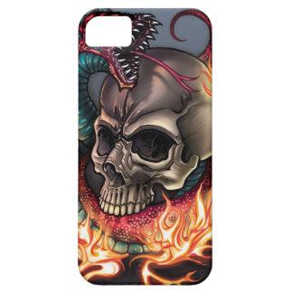 Skull + Snake iPhone 5 Case