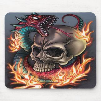 Skull + Snake Mousepads