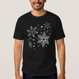 Skull Snowflakes T-shirts