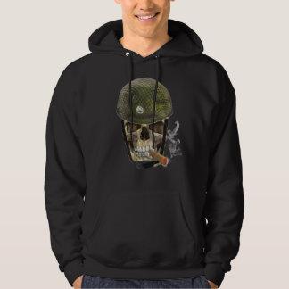 Skull soldier hoodie