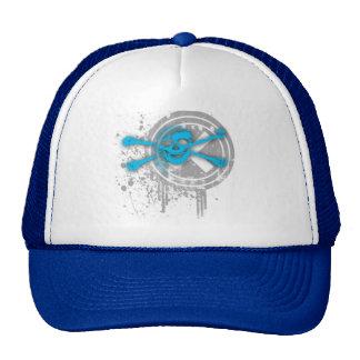 skull special mesh hat
