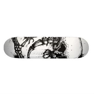 Skull Spine and Hand Skate Board