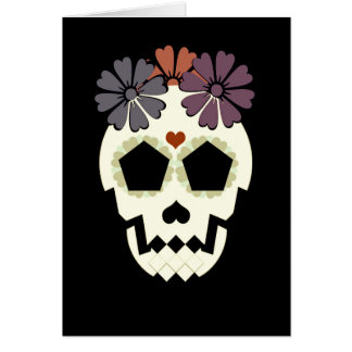 "Skull ""Stay Spooky!"" Greeting Card"