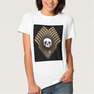 Skull & Sticks (Hockey) Tee Shirts