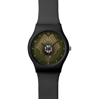 Skull & Sticks (Hockey) Wrist Watches