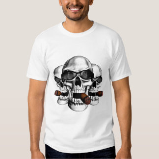 Skull Sunglasses Tshirt