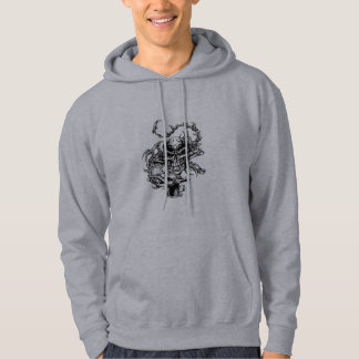 Skull sweatshirt hoodie