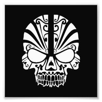Skull Tattoo Tribal Art Photo