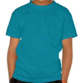 Skull - Teal Kids' Basic Hanes Tagless T-Shirt