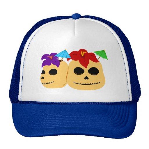 Skull Tiki Mugs Hats