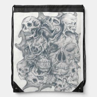 skull together rucksacks