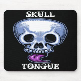 Skull Tongue Mousepads
