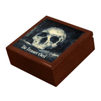 Skull Treasure Chest Gift Box