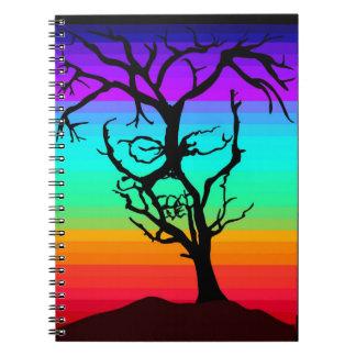 Skull tree notebook