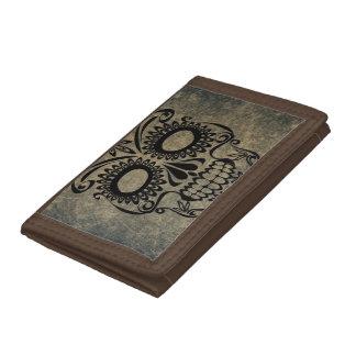 Skull Tri-fold Wallet