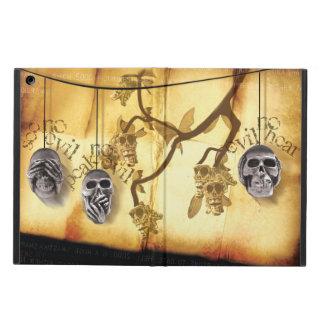 Skull Triad 2 Case For iPad Air