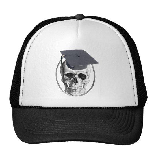 Skull Truck Driving School Graduate Cap