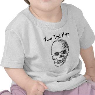 Skull. T-shirts