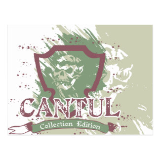 Skull Tshirts and Gifts Postcard