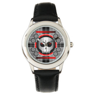 Skull TV kid's stainless steel watch