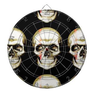 skull warpaint dartboards