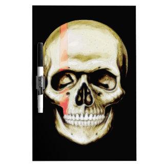 skull warpaint dry erase white board