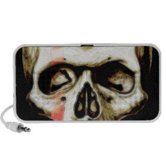 skull warpaint iPhone speaker