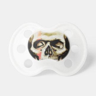 skull warpaint pacifier