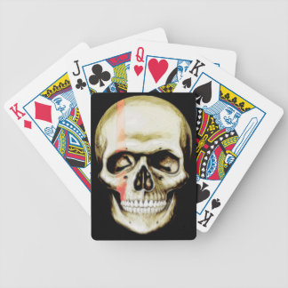 skull warpaint playing cards