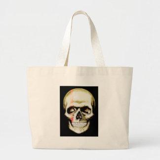 skull warpaint tote bags