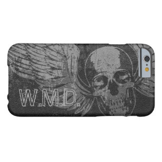 Skull Wing Distressed iPhone 6 Case