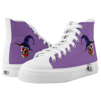 Skull Witch High Tops