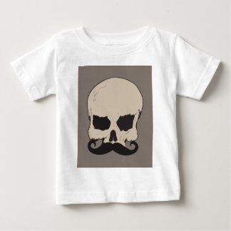 Skull with a Mustache Tee Shirt