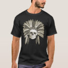 skull with an Indian headdress T-Shirt