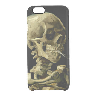 Skull with Burning by Cigarette Van Gogh Uncommon Clearly™ Deflector iPhone 6 Case