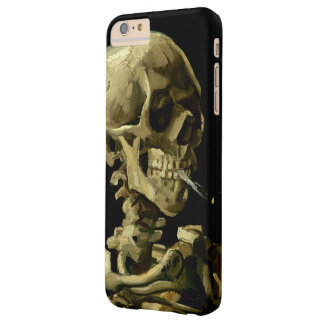 Skull with Burning Cigarette by Van Gogh Barely There iPhone 6 Plus Case