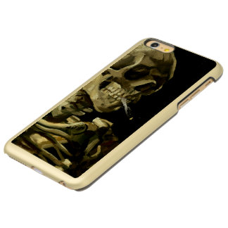 Skull with Burning Cigarette by Van Gogh Incipio Feather® Shine iPhone 6 Plus Case