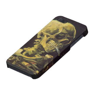Skull With Burning Cigarette Speck Case iPhone 5/5S Cases