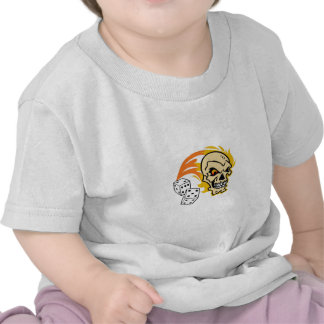 SKULL WITH DICE SHIRTS