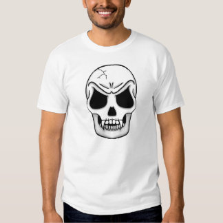 Skull with Fangs Tee Shirts