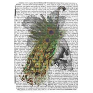 Skull With Feather Headress iPad Air Cover