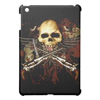 Skull with pistols iPad mini cover