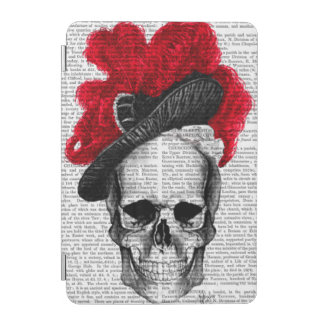 Skull with Red Hat iPad Mini Cover