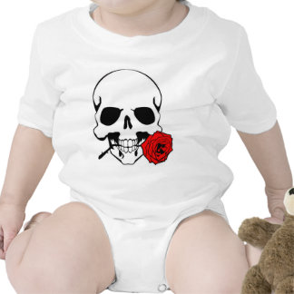 Skull with Rose Bodysuits