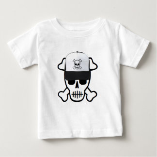 Skull with Skull Hat Tshirts