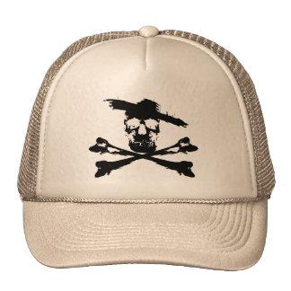 Skull with Sombrero Cap